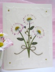 Daisy Bouquet Note Card