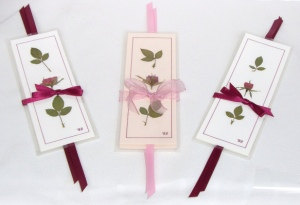 Rose Bookmark Gift Sets