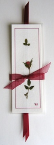 Rose Bookmark Gift Set